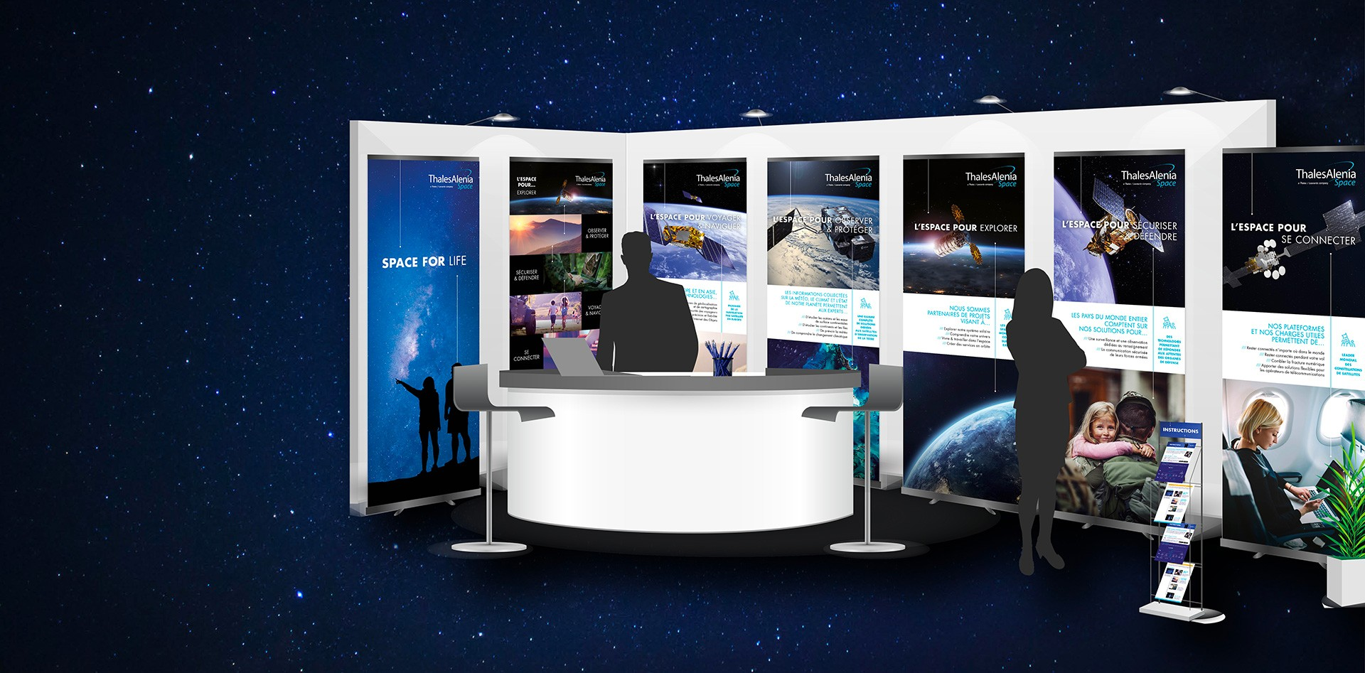 La force de l'alliance storytelling et digital : le cas Thales Alenia Space