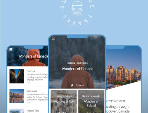 Travel Mobile App [Template]
