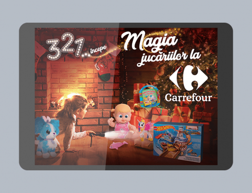 Catalogue digital Noël Carrefour Roumanie